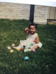 Easter, 1984, age 2
